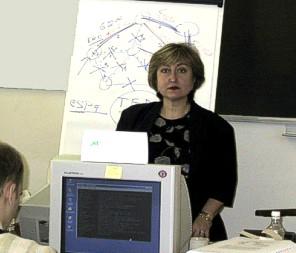 Галина Пилдуш, сертифицированный инструктор Juniper Networks